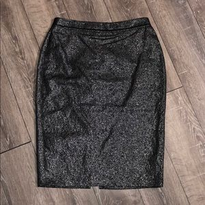 """NWOT """"Who What Wear"""" Textured Pencil Skirt"""